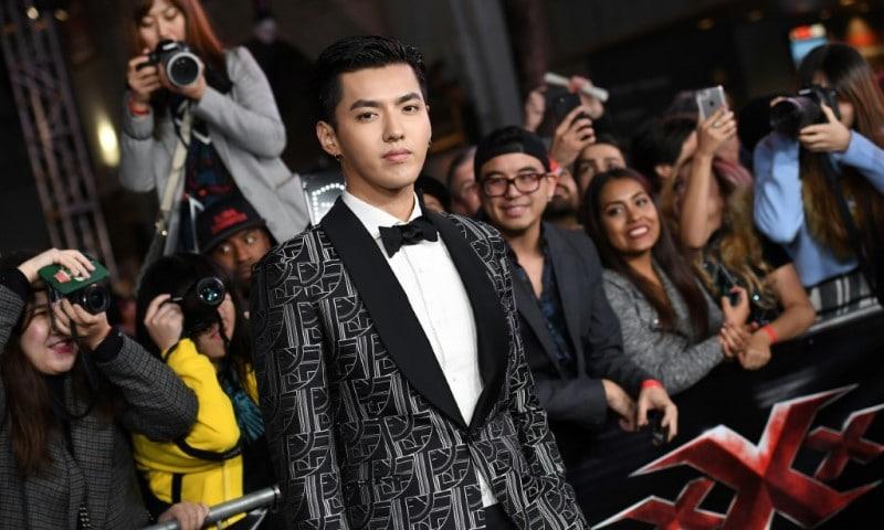 Chinese Pop Idol Kris Wu