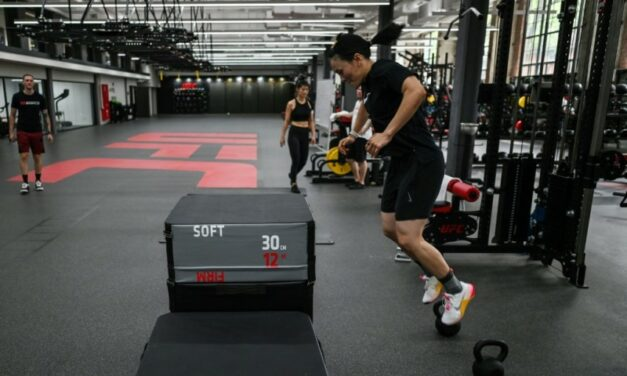 At MMA Center, China Snowboarders Grapple with Pandemic's Impact