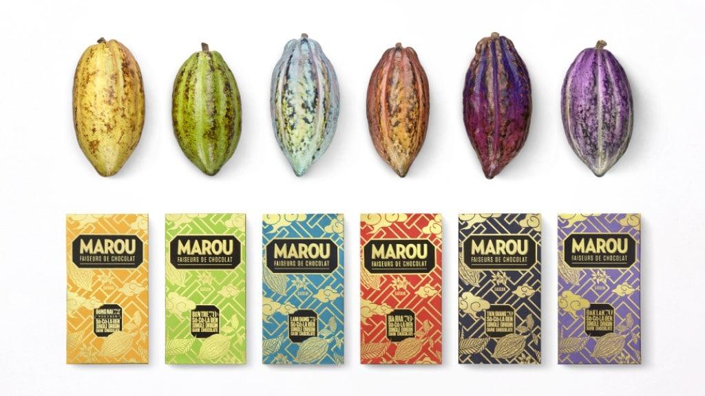 Chocolate - Marou Brand ©Marou Chocolate