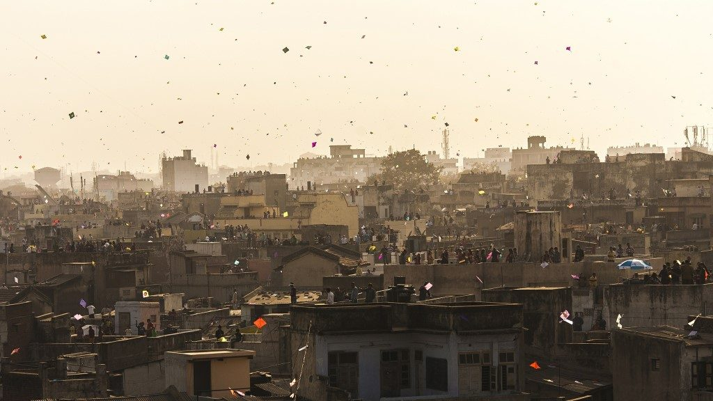 City on the Roof - Ahmedabad, India - Sandeepachetan