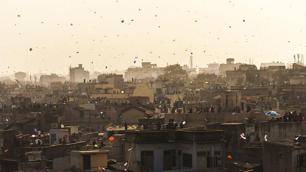 City on the Roof - Ahmedabad, India - Sandeepachetan