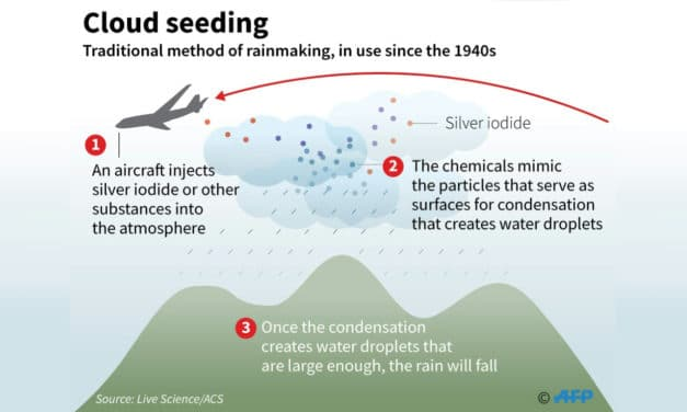 Indonesia Starts Cloud Seeding to Keep Forest Fires at Bay