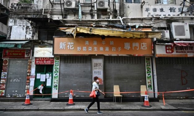 Hong Kong to Impose First COVID-19 Lockdown on Virus-Hit District