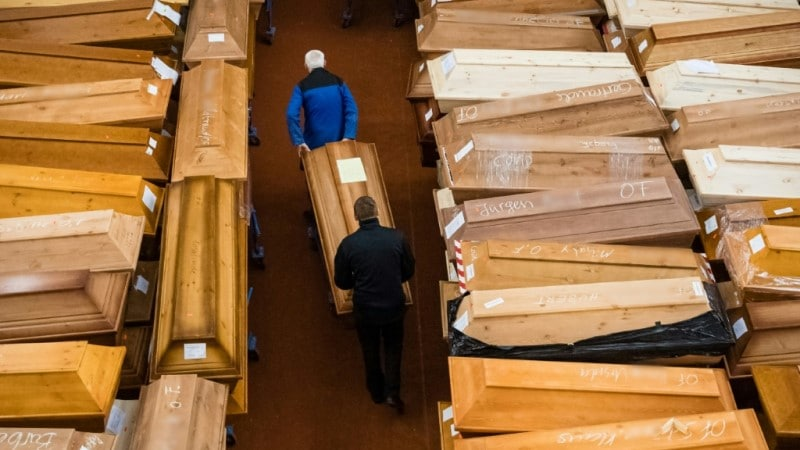 Coffins in Germany