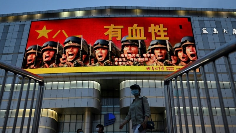 'Listen to the Party': Chinese Cities Deck Out in Slogans for