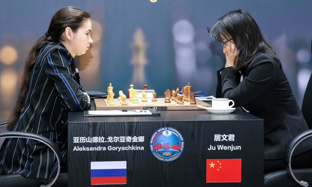 Competing for the Largest Prize in the History of Womens World Chess Championship China.afp