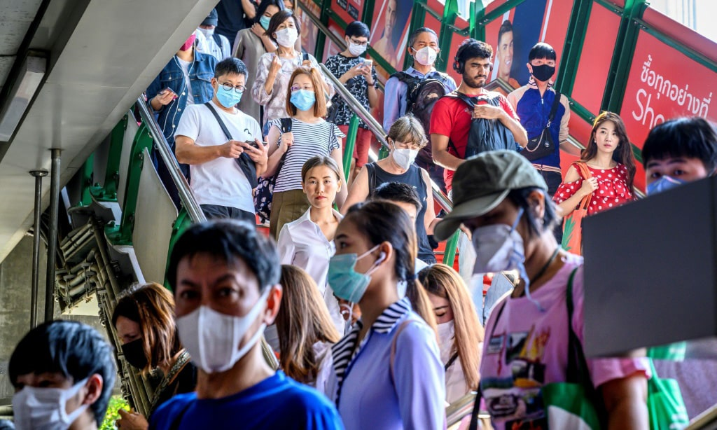 Coronavirus Detected in Thailand.afp
