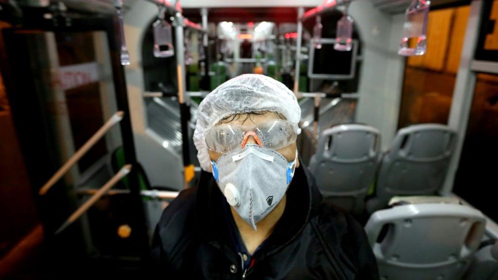 Coronavirus Epidemic in Iran.afp