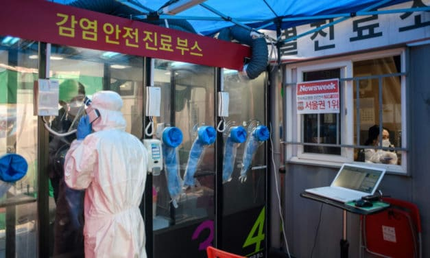 South Korea Dials Up Virus Testing With Hospital 'Phone Booths'