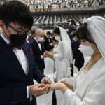 30,000 Turnout for South Korea Mass Wedding Despite Coronavirus