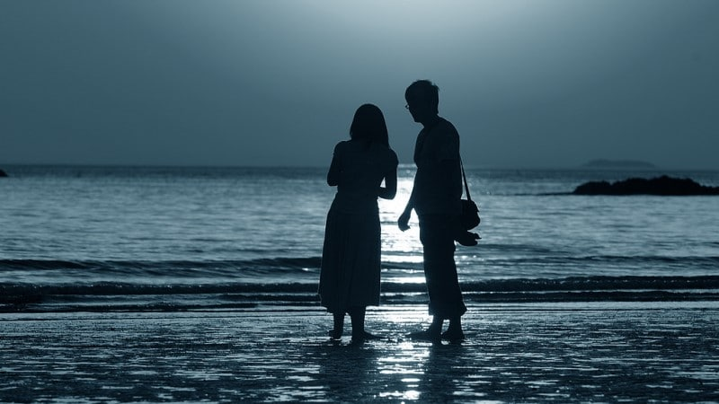 Couples in Sunset - Anmyeondo Beach, South Korea ©Rayhue