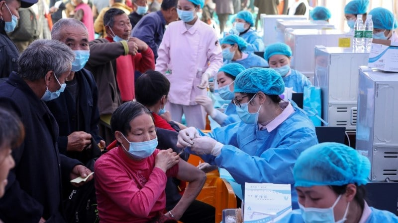 Covid-19 Vaccination in Chongqing China