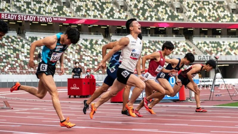 Covid-era Olympics