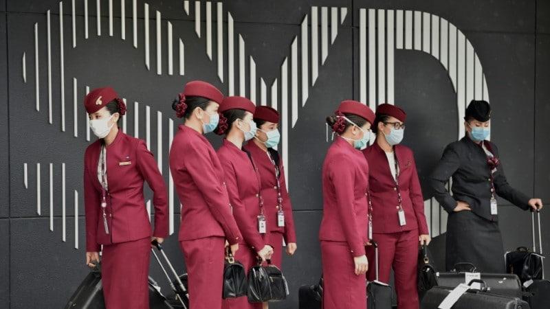 Crew of Qatar Airways