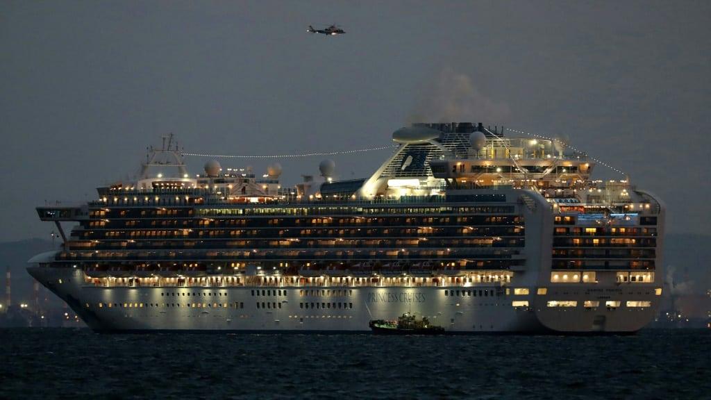 Cruise Ship Diamond Princess Quarantined Japan.afp