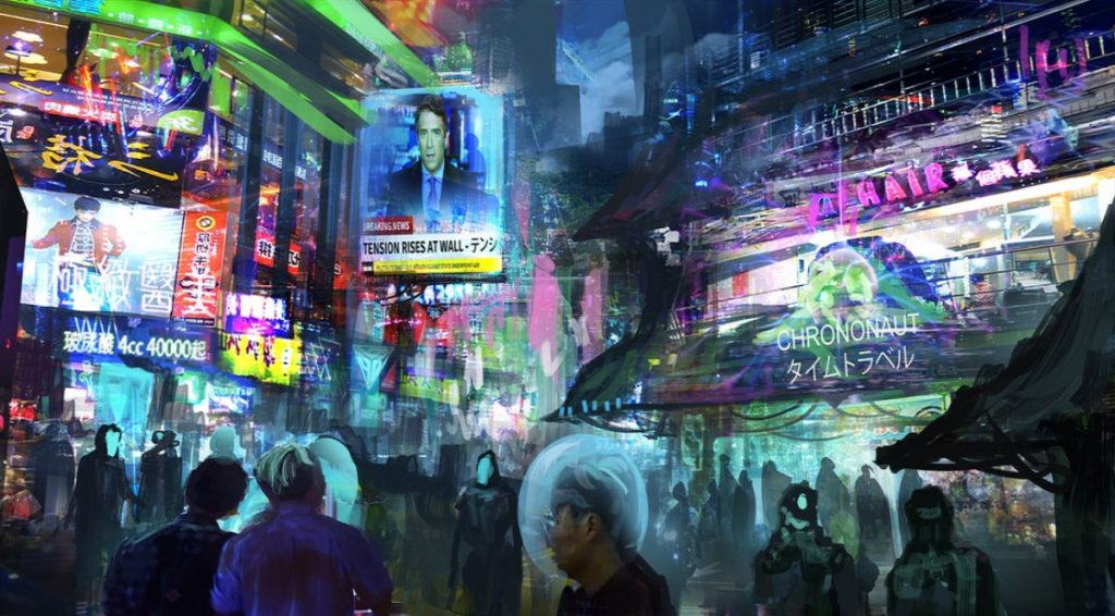 Cyberpunk Alley - Anime