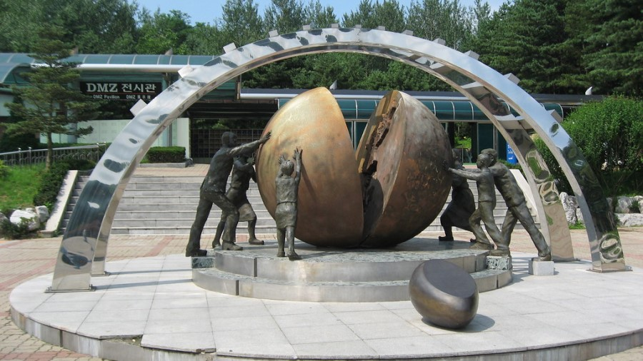 DMZ Public Art Sculpture