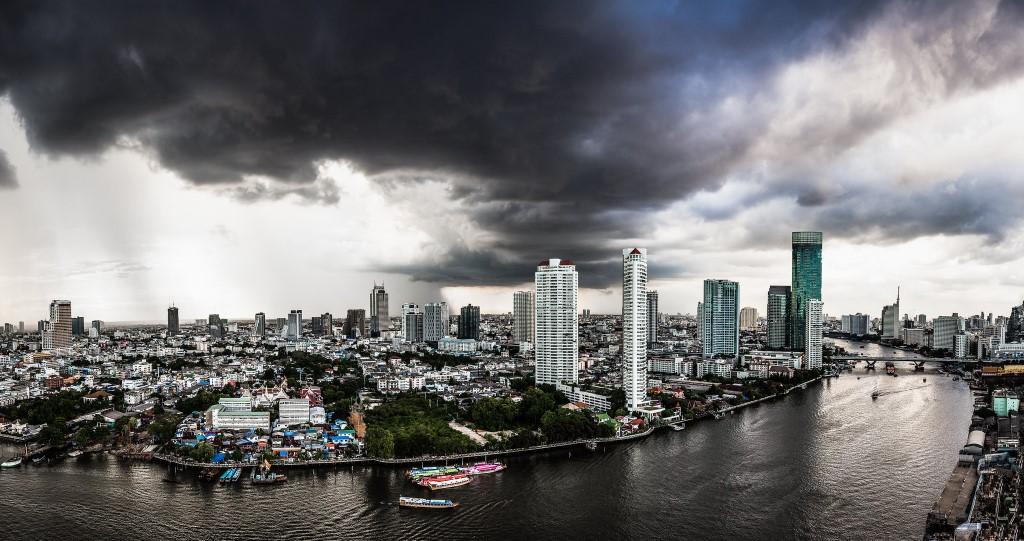Dark Clouds Over Bangkok - Tore Bustad
