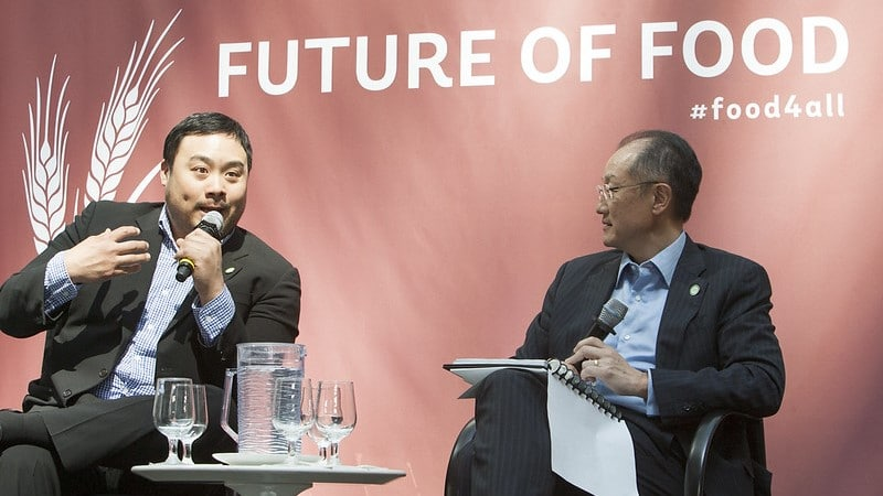 David Chang at Future of Food ©World Bank
