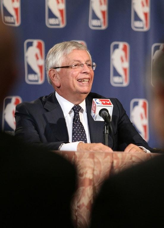 David Stem of NBA