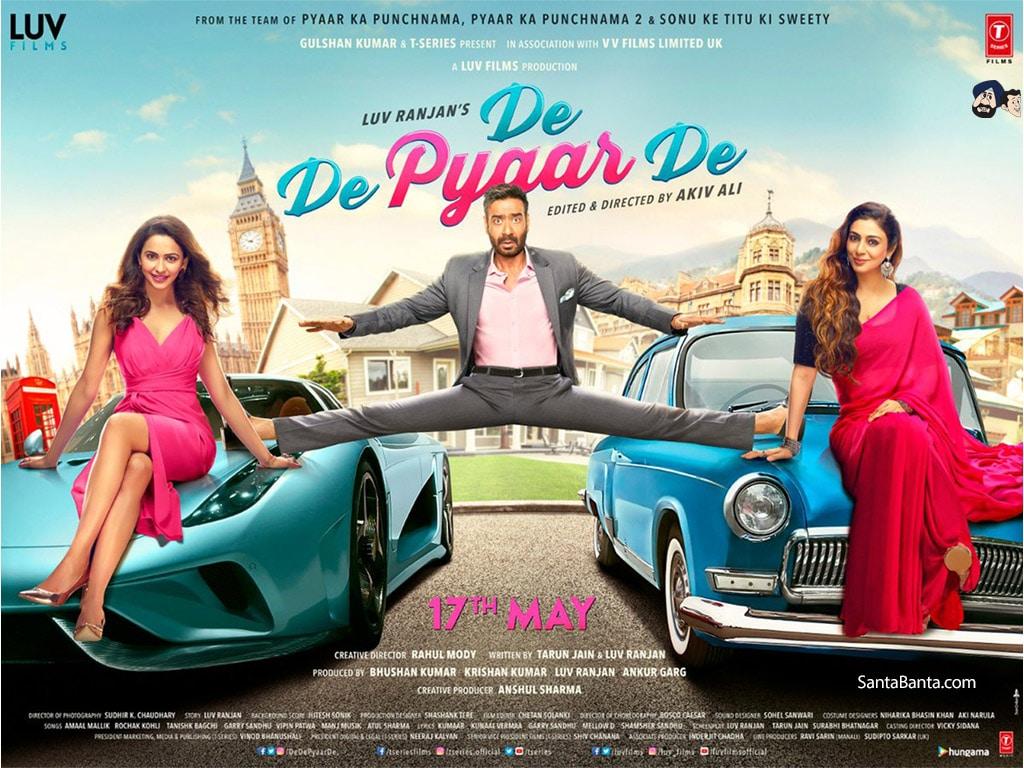 De De Pyaar De - Movie Poster