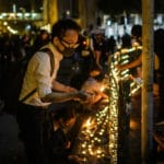 Thousands Mourn at Hong Kong Rally after Student's Death