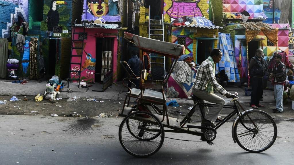 Delhi Street Art ©AFP