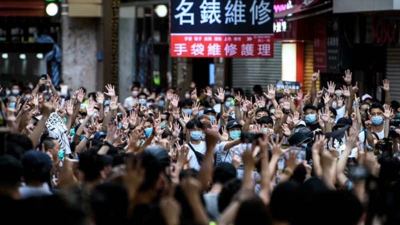 Democracy Protest in Hong Kong