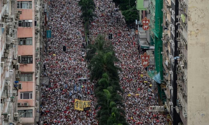 Democracy Rally in Hong Kong