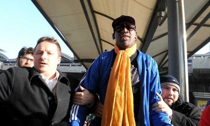 Dennis Rodman Visit to Pyongyang