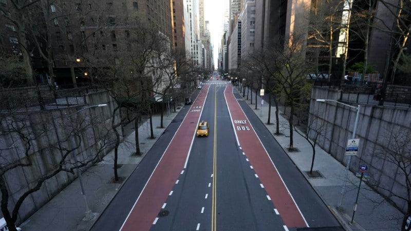 Deserted Midtown New York