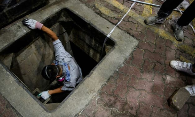 Liberty or Death: Hong Kong Protesters Explore Sewers to Escape