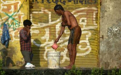 Virus Battleground in India's Biggest Slum