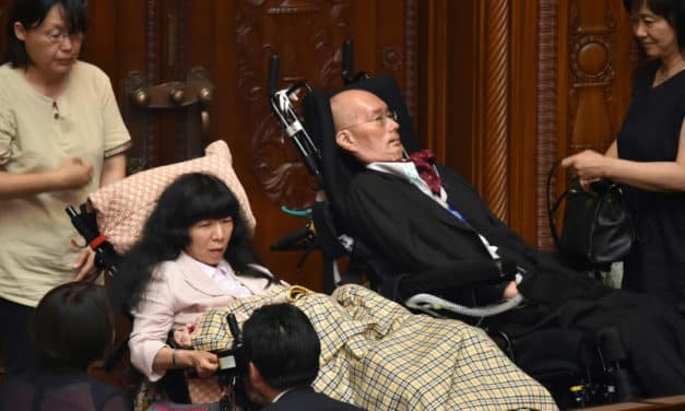 Being Invisible: Japan Disabled Lawmakers Fight for Inclusion
