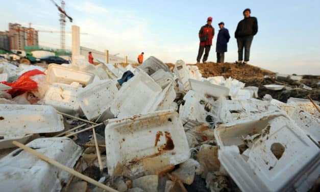 China to Ban Single-Use Polystyrene Plastics by the End of 2020