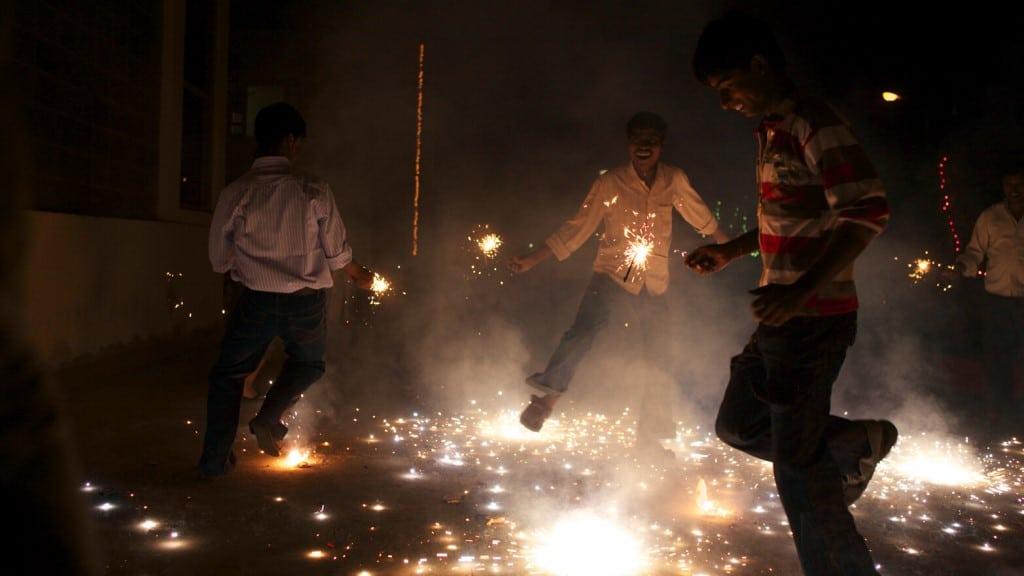 Diwali Celebration India ©Ishan Khosla