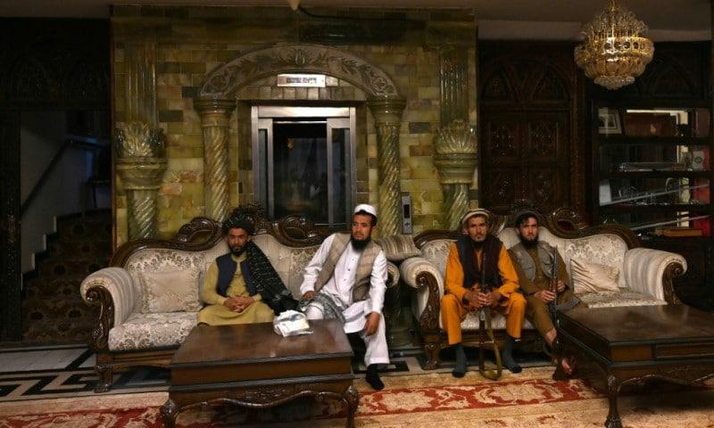 Dostum's Kabul Mansion