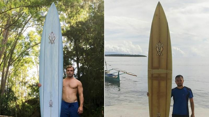 Doug Falter's Surfboard