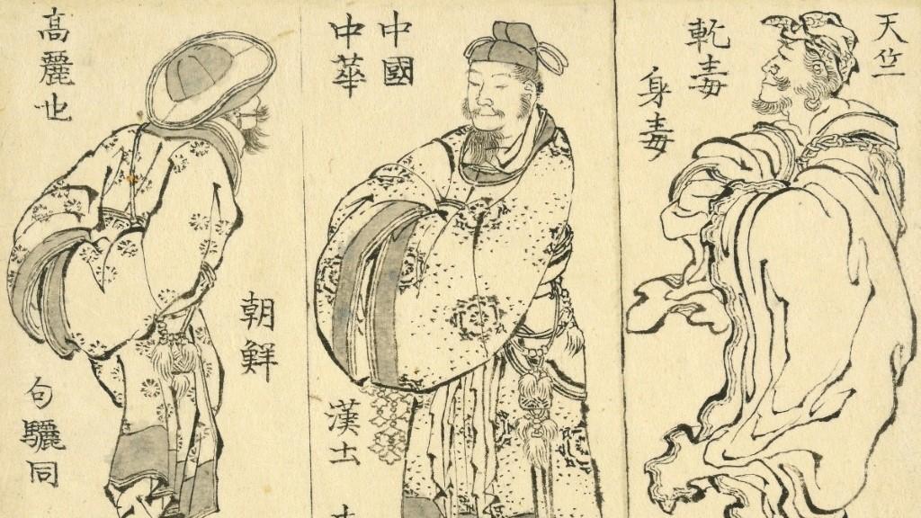 Drawings of Hokusai in 1829