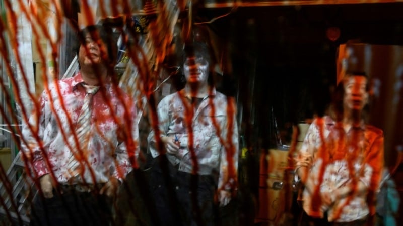 Drive-in Haunted House, Made Performances Coronavirus Compatible.afp