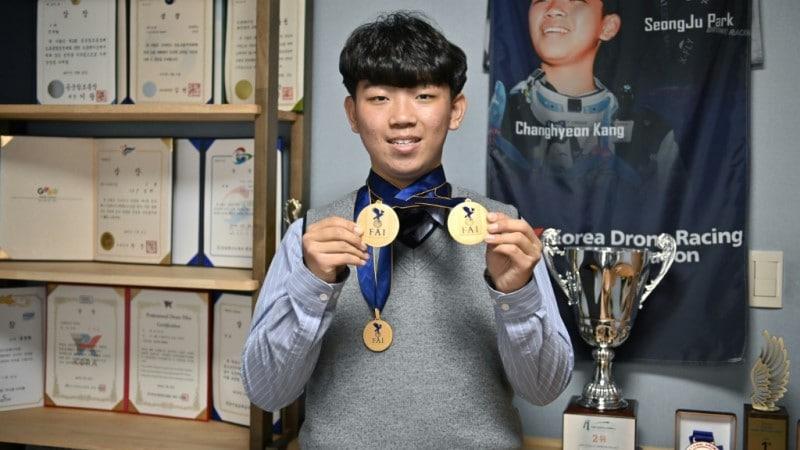Drone Racing Champion Kang Chang-hyeon