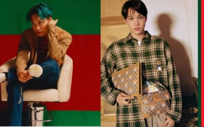 EXO's Kai Launches Exclusive Capsule Collection with Gucci