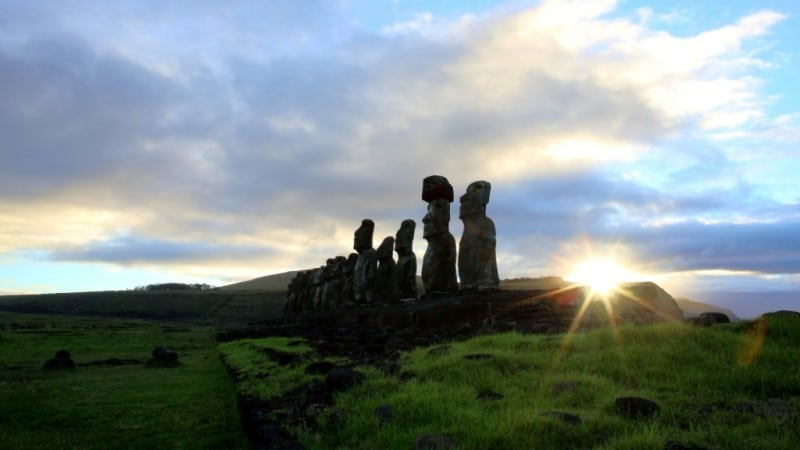 Easter Island's Famous Megaliths