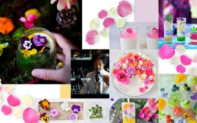 Tokyo's Edible Garden Offers Cocktail Made with Roses