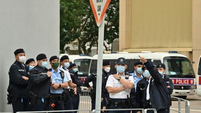 Eight Hong Kong Democracy Activists