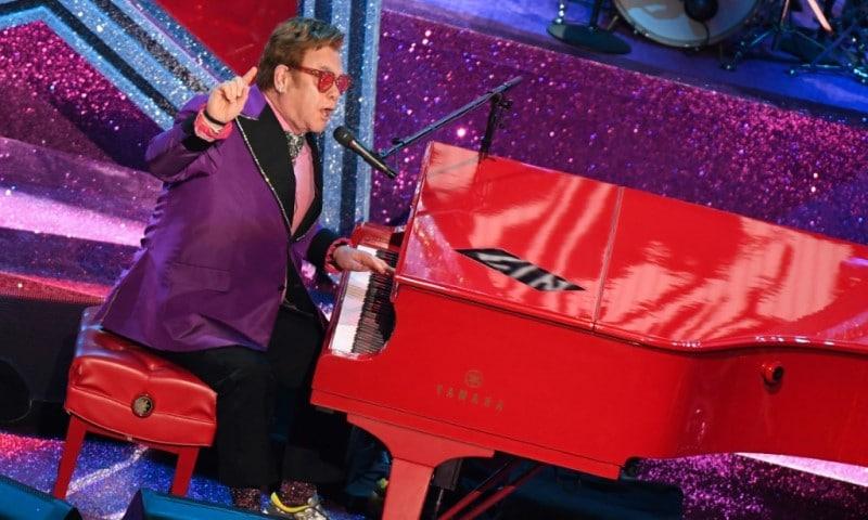 Elton John at Global Citizen Live Festival