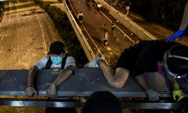 Hong Kong Protesters Make Daring Escape from Campus