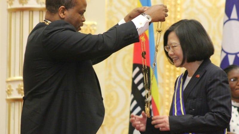 Eswatini King and Taiwan President