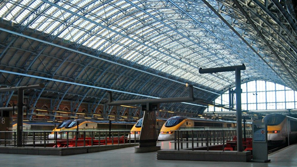 Eurostar Trains - London