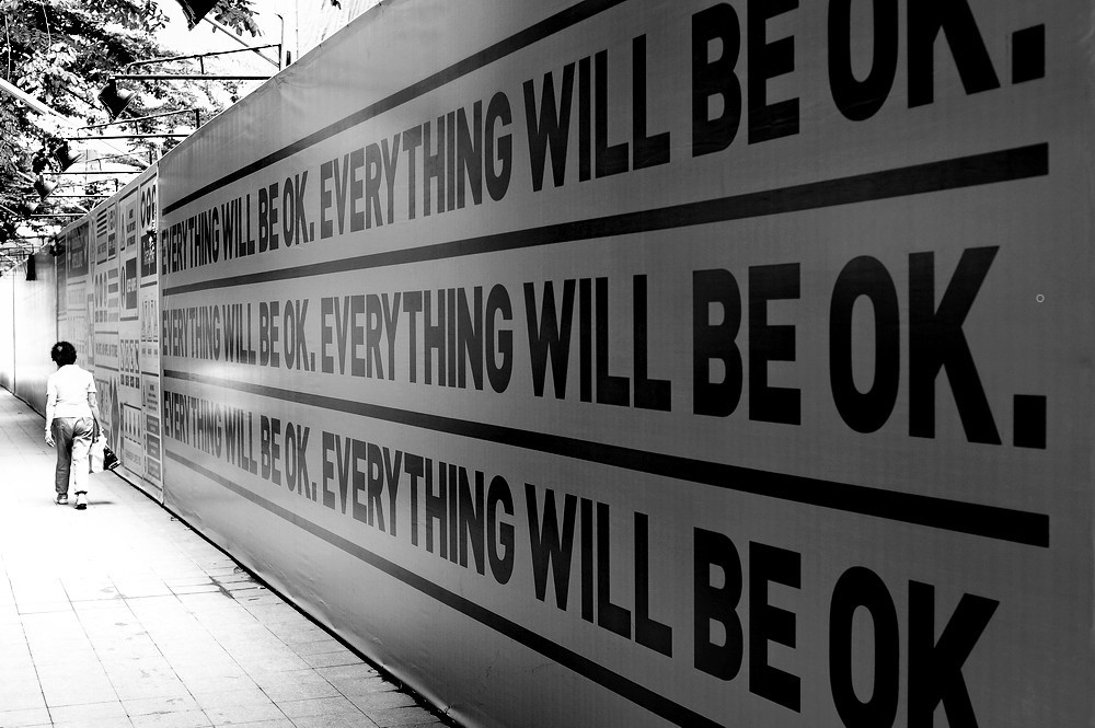 Everything Will Be OK - Thailand Wall Mural